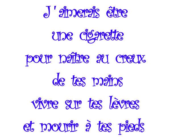 poeme premiere rencontre amour